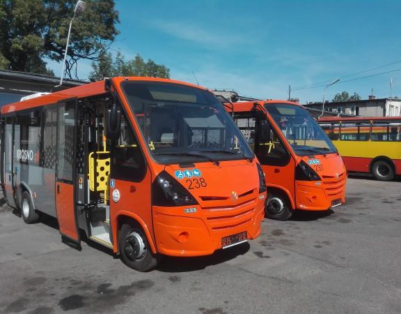 Krosno i 13 nowych autobusów. Minibusy od MMI i MIDI-debiut hybryd Volvo!